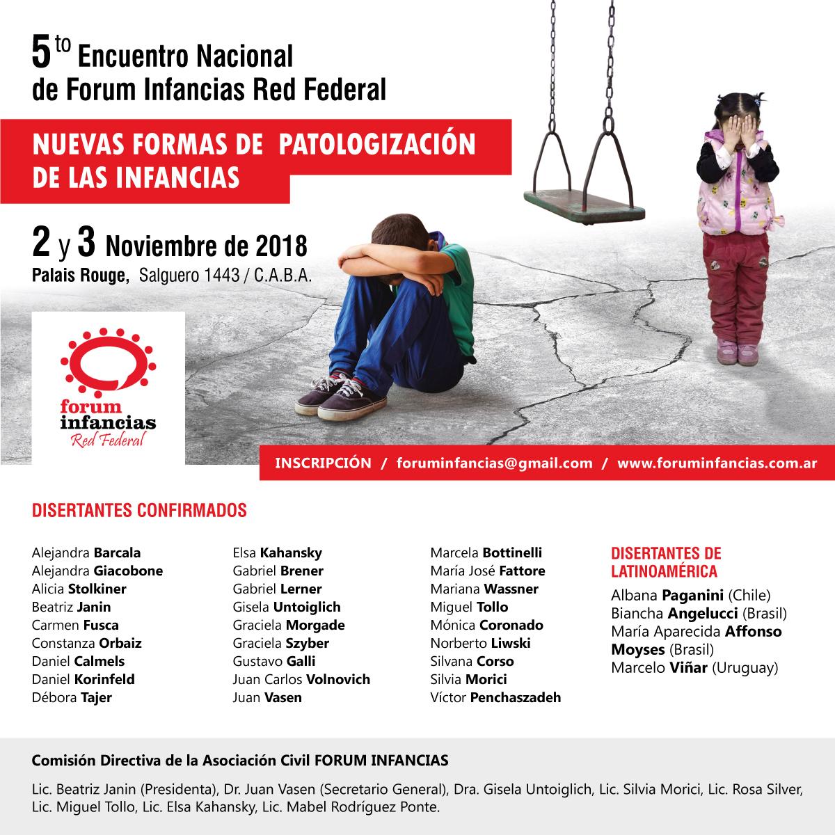 Radio Casona Nº 207 –  Encuentro Nacional del Forum Infancias 2018