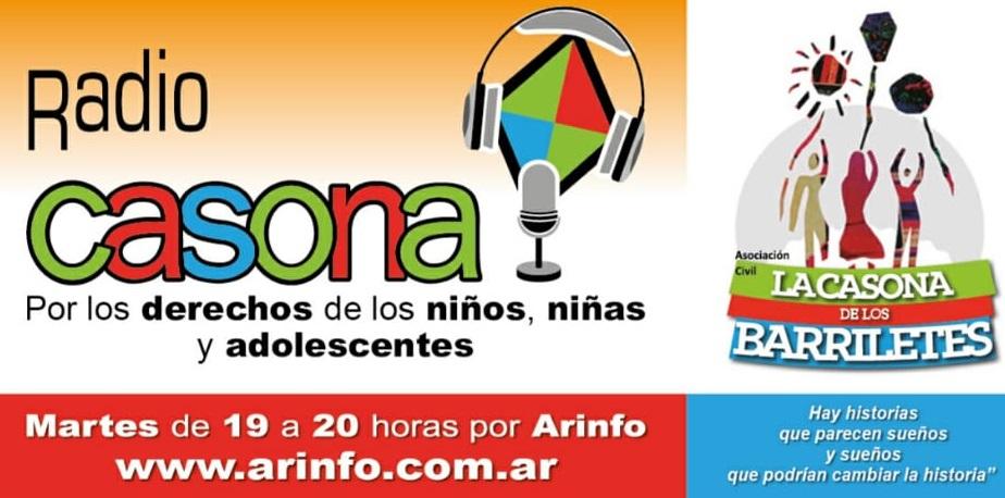 Radio Casona Nº 213 – Sobre la Fiesta de los logros de La Casona de los Barriletes