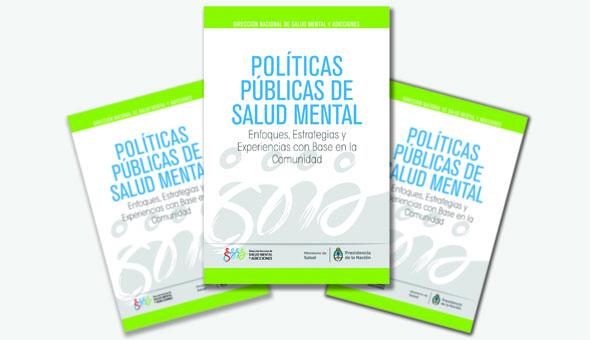 Libro Políticas públicas en salud mental