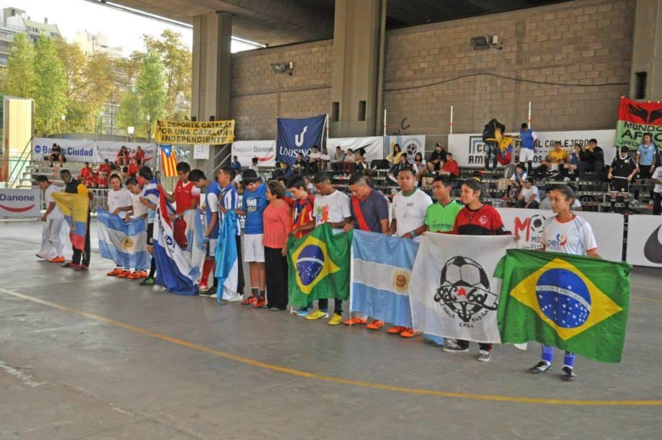 Comenzó la Copa América de Fútbol Callejero en Argentina