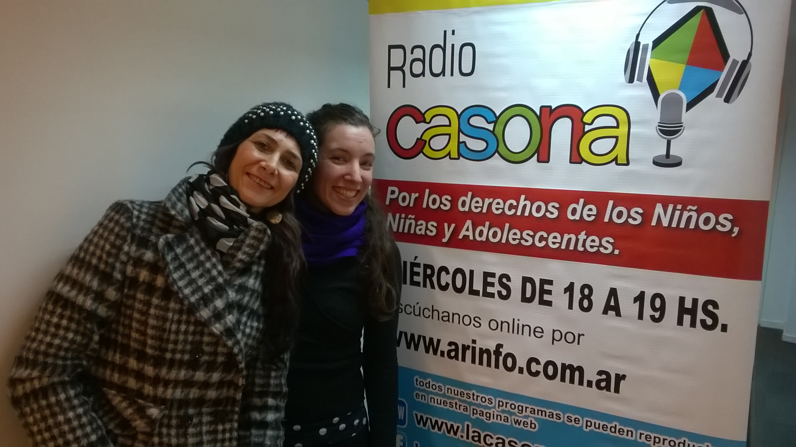 Ana De Marchi y Valeria Rosenberg