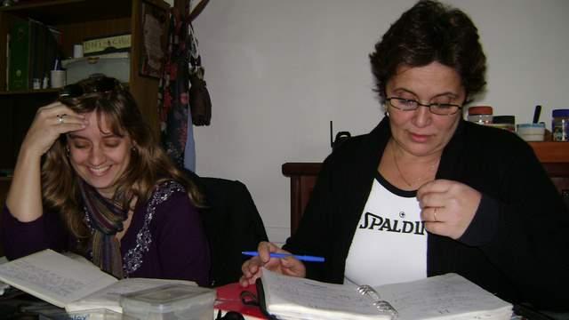 Alejandra y Yanina