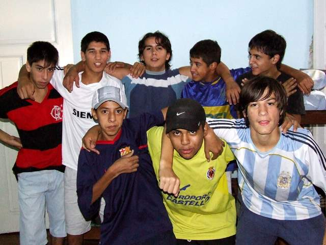Grupo de chicos